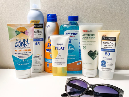 Taking Care of a Sunburn