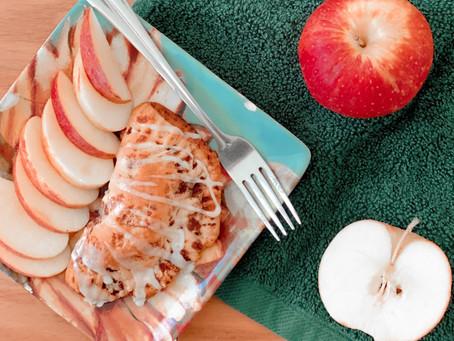 Cinnamon Roll Apple Turnovers