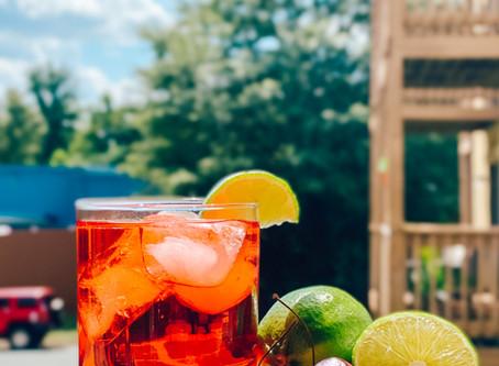 Boozy Cherry Limeade