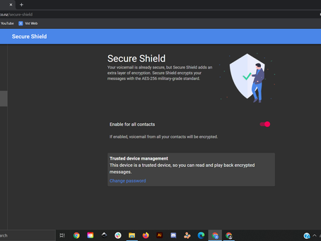 Enhanced Communications Security With Secure Shield