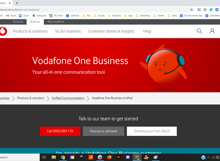 How to Set Up Vxt if You're a Vodafone One Business Customer
