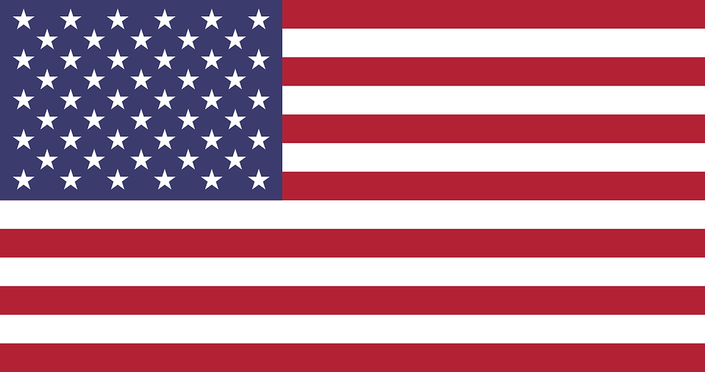 An image of a US flag representing the Vxt Voicemail App becoming available in America.