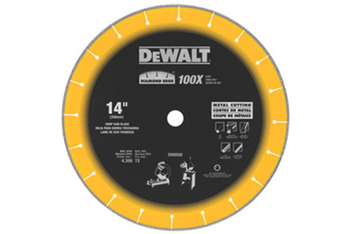 "DISCO DIAMANTADO 14"" PARA CORTE DE METAL DW8500"
