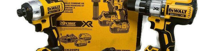 COMBO 20V MAX X3 ROTO +LLAVE DE IMPAC. DCK299P2 S/CARBONES
