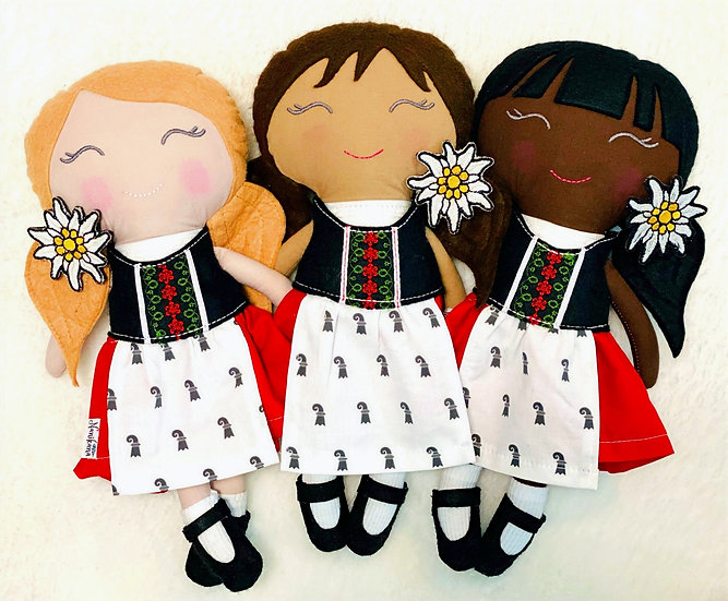 Basel Doll (Made to order)