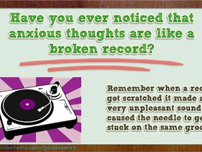 Anxious Thoughts And Broken Records