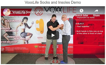 Voxxlife balance and stability demonstration