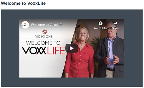 Introduction to Voxxlife