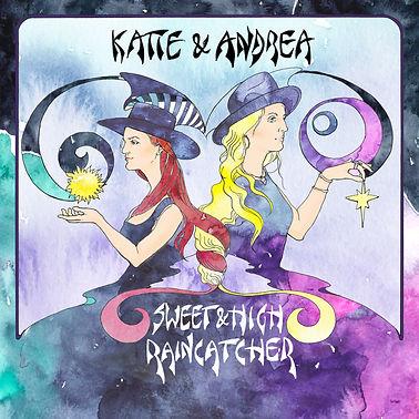 Katie and Andrea Sweet and High-raincatc