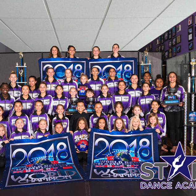 2018 Competition Team