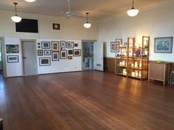 Site 13, schoolhouse interior