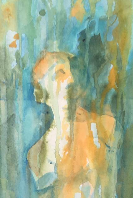 Venus de Milo-book bound painting