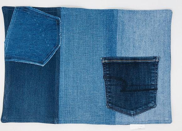 Napperon en jeans 05