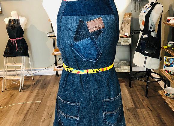Tablier en jeans - ADULTE