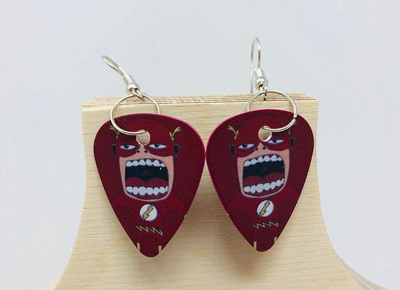 Boucles d'oreilles picks de guitare 37