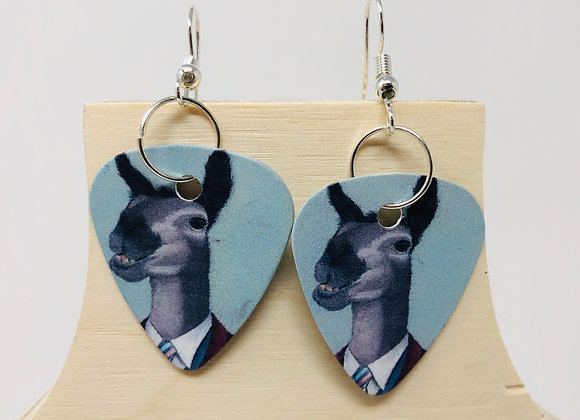 Boucles d'oreilles picks de guitare 06