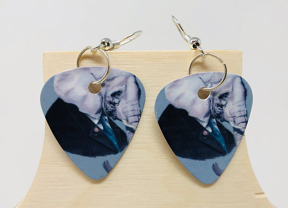 Boucles d'oreilles picks de guitare 11
