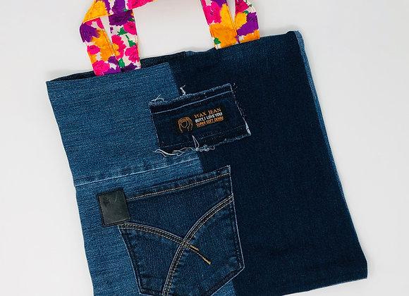 Sac-cadeaux en jeans 01