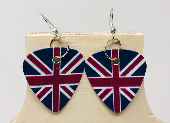 Boucles d'oreilles picks de guitare 07