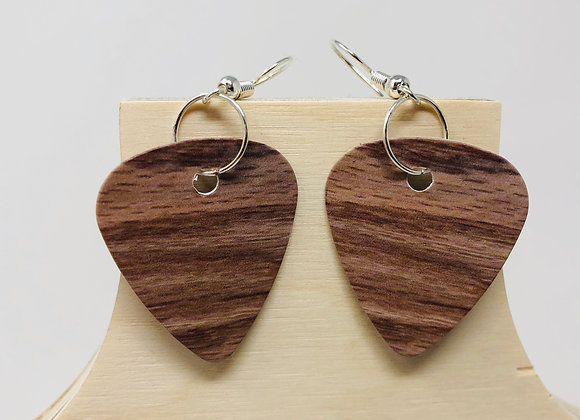 Boucles d'oreilles picks de guitare 09