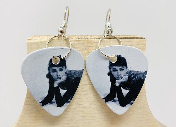 Boucles d'oreilles picks de guitare 46
