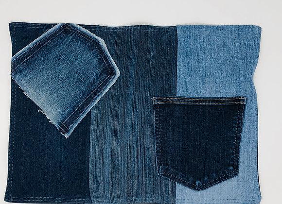 Napperon en jeans 02