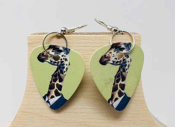 Boucles d'oreilles picks de guitare 22