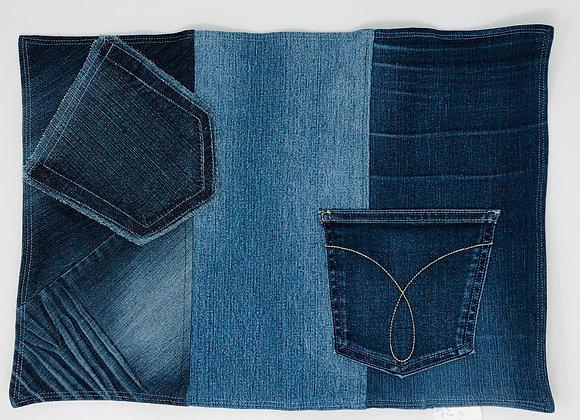 Napperon en jeans 12
