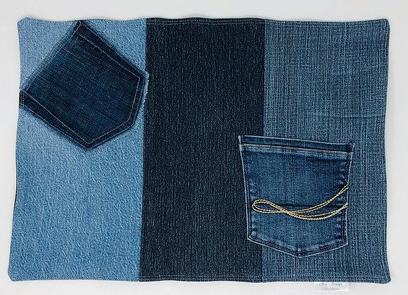 Napperon en jeans 10