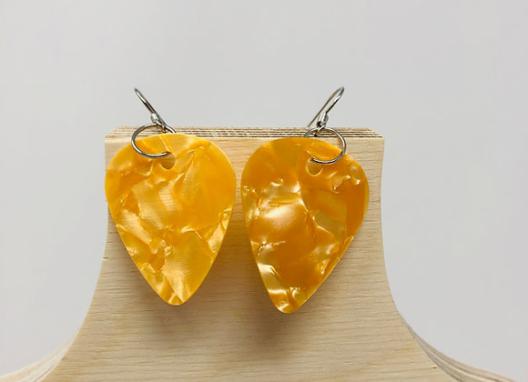 Boucles d'oreilles picks de guitare 44