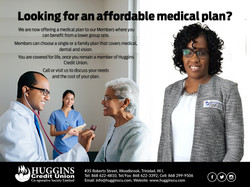 Huggins Medical plan ad