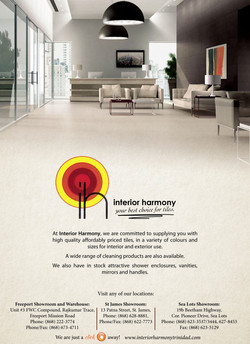 Interior Harmony 20x4 press ad