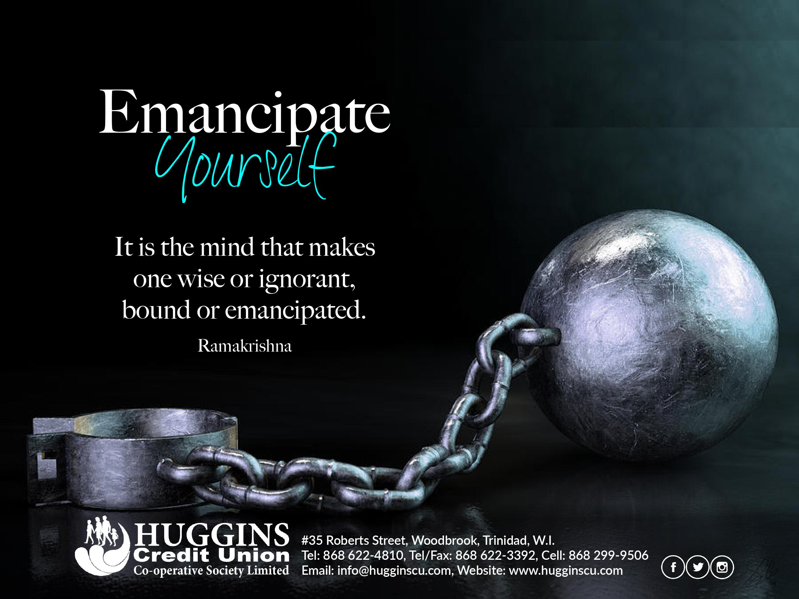 Huggins CU Emancipation day greeting 202
