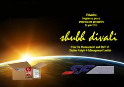 Skyline Freight Divali ad