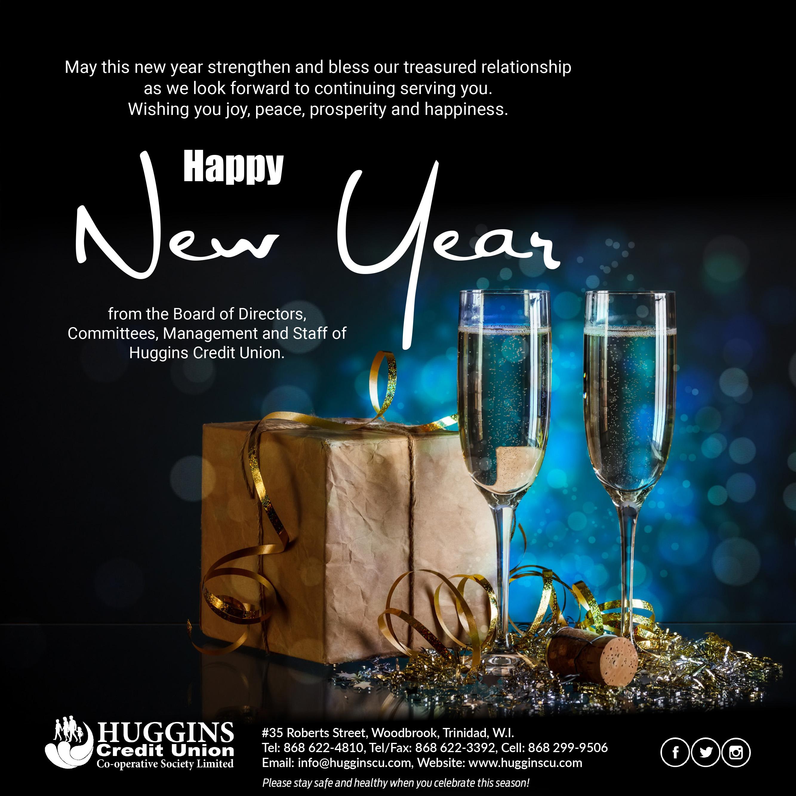 Huggins 2021 New Year Greetings