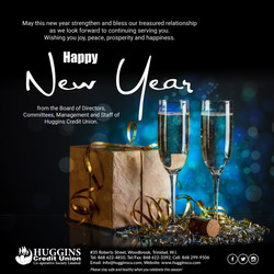 Huggins 2021 New Year Greetings