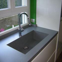 Керамический умывальник для кухни