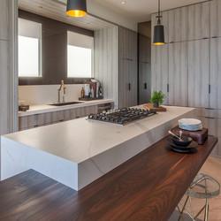 Мраморная текстура на кухоне
