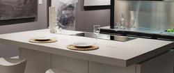 Керамическая белая  кухня