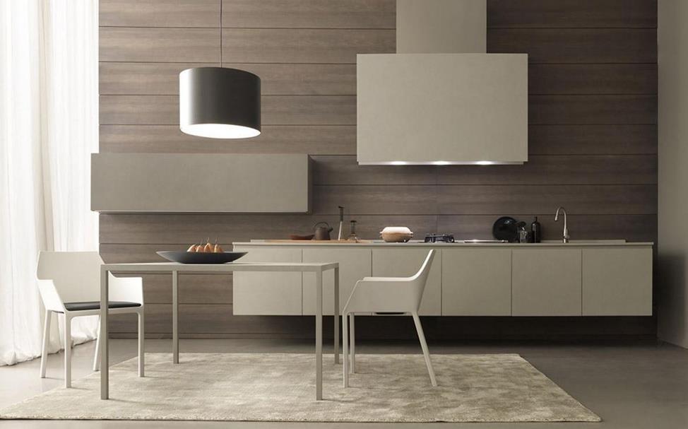 Стильные кухни в современном исполнении из керамики.