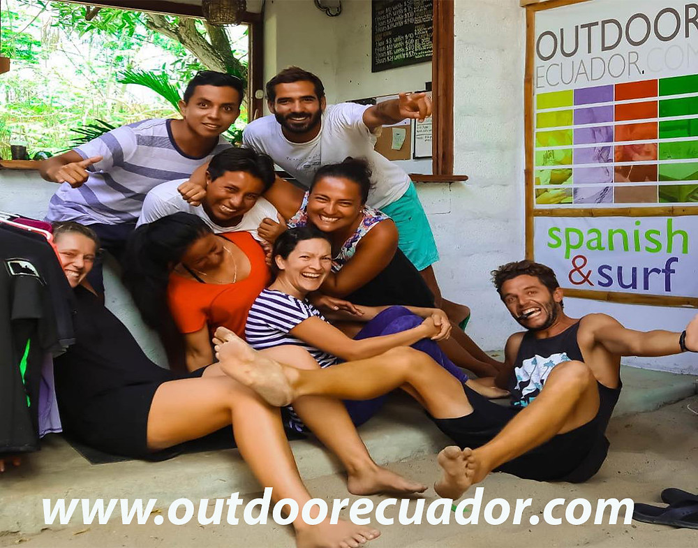 The Outdoor Family will welcome you with open arms, a big smile, certified and experienced teachers