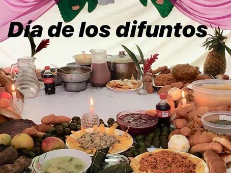El día de los difuntos ... Ecuadorian traditions