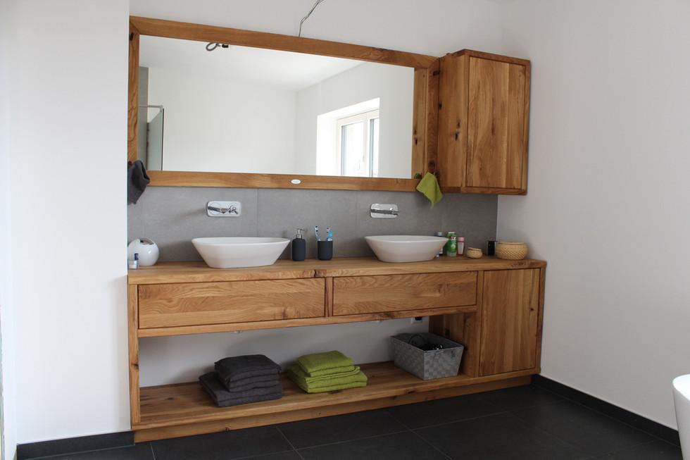 Eichenholz Bade- Zimmer