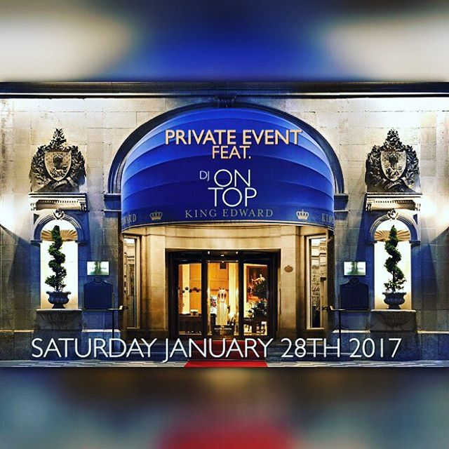 Private Event tonight _kingedwardhotel in Toronto tonight. _Book with the best