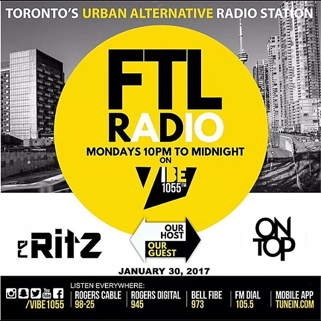 I will be special guest DJ on FTL Radio tonight 105.jpg5fm with all new Hip Hop all show alongside _
