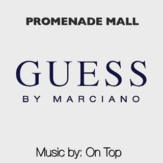 I'll be spinning until 5pm today inside _guess inside Promenade Mall