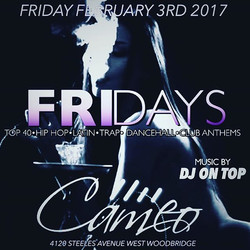 The fastest growing Friday Night in the city goes down _cameo.lounge with yours truly on the decks