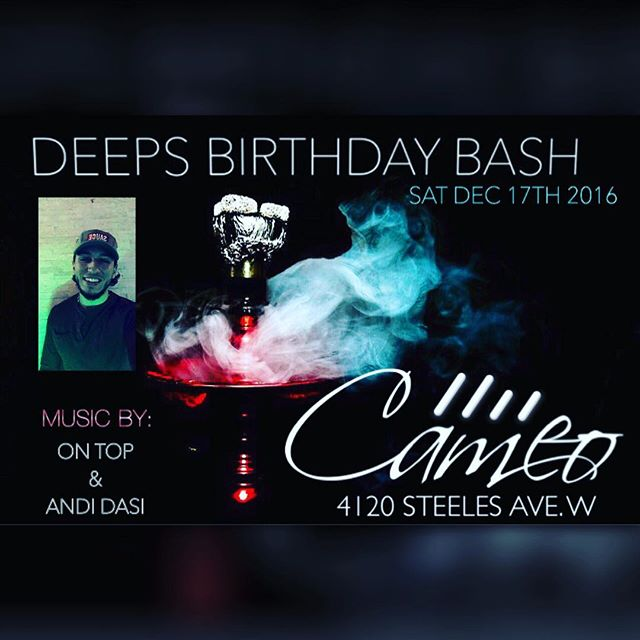 Tonight is SOLD OUT _cameo.lounge for _thebarberhimself_djdeeps BDAY BASH. _If you want to get in, b