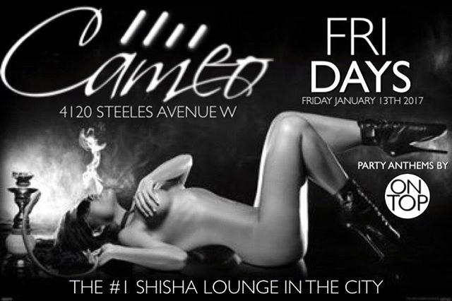 It's Friday and you know what that means... It's on & poppin at the #1 Shisha Lounge in the city wit