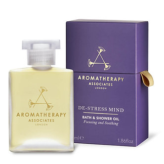 Aromatherapy Associates - De-Stress Mind Bath & Shower Oil, 55 ml